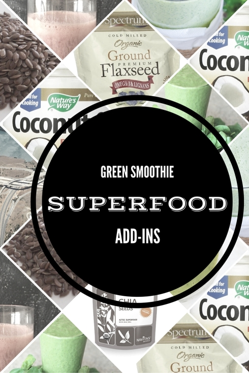 Green Smoothie SuperFood Add-Ins